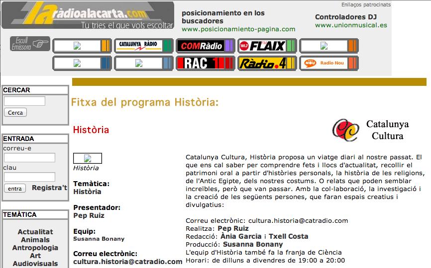 Cat Radio-Historia