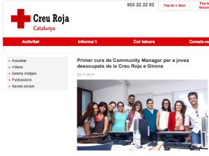Curso de Community Manager para jóvenes parados