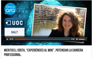 Entrevista a Txell Costa en la Radio Fem Girona